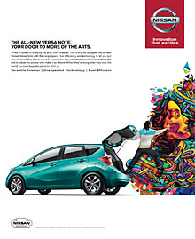 Nissan Versa Note - Agency TBWA Chiat Day